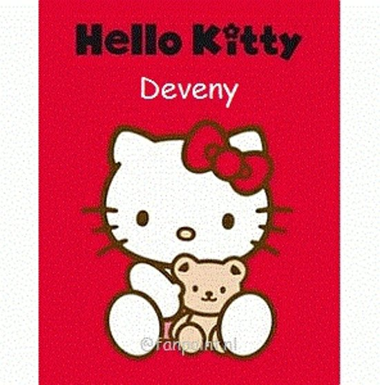 Hello Kitty Fleece Deken.Bol Com Hello Kitty Fleece Deken