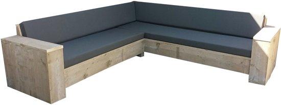 Hoekbank Lounge Steigerhout.Steigerhout Lounge Hoekbank 250x250