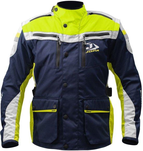 Jopa Enduro Jacket Iron Yellow Fluor-Blue 4XL