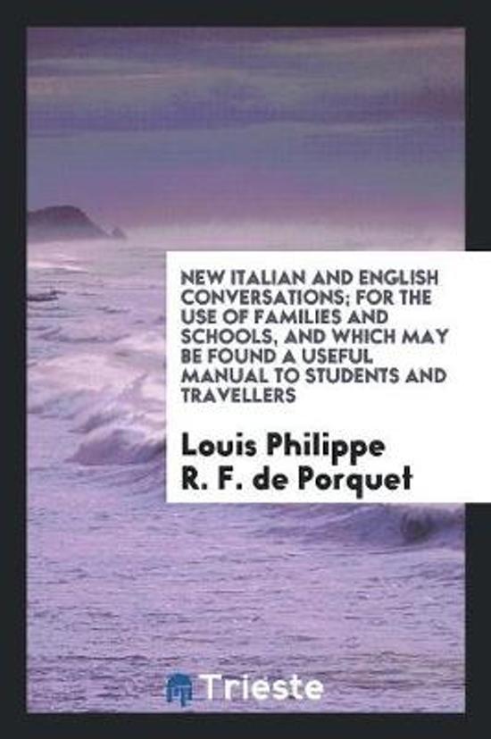 New Italian and English Conversations