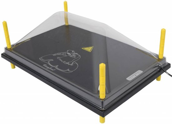 Afdekkap voor warmteplaat 40x60cm