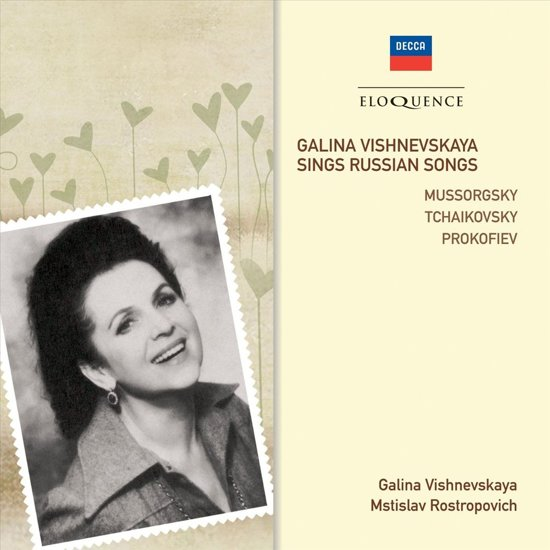 Galina Vishnevskaya Sings Russian Songs