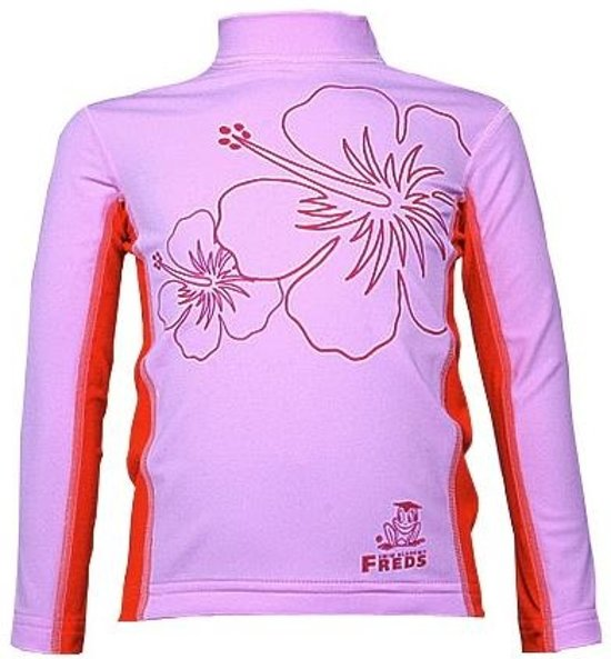 Freds swim academy Longsleeve baba.rose roze maat 104-110