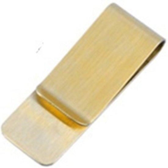 Mr. Pefe Moneyclip small Gold - Geldclip goudkleurig