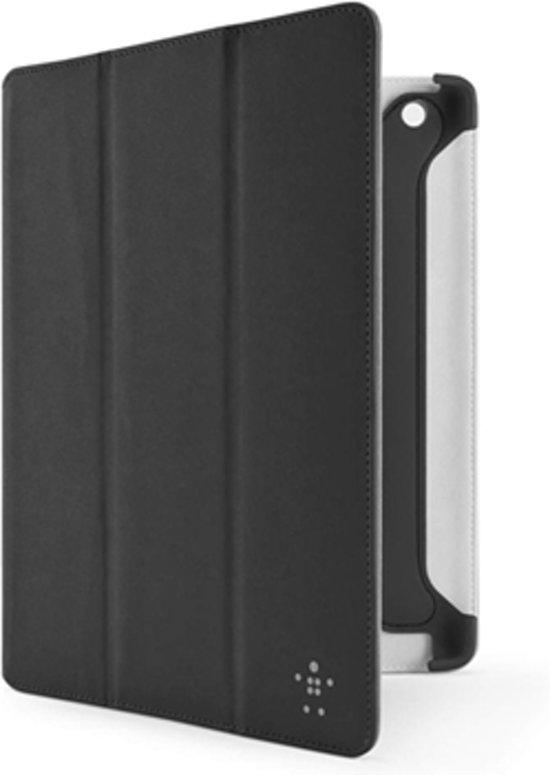 Belkin Pro Color Duo Tri-Fold Folio hoes met standaard voor de iPad en iPad 2 - Zwart
