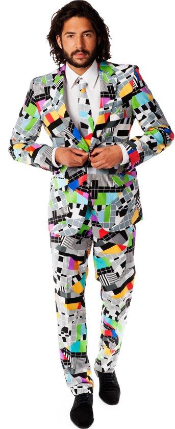 OppoSuits Testival - Mannen Kostuum - Gekleurd - Carnaval - Maat 52