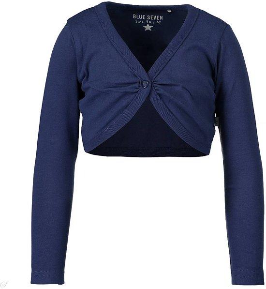 Blue Seven Meisjes Vest - donkerblauw - Maat 98