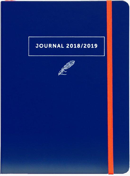 A-Journal agenda 2018 2019 blauw - schoolagenda