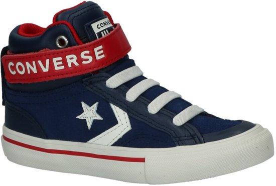 c2f847668010d7 Converse Jongens Sneakers Pro Blaze Strap Hi Kids - Blauw - Maat 27