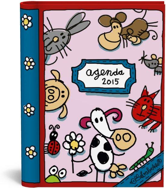 Babette agenda 2015 Roze