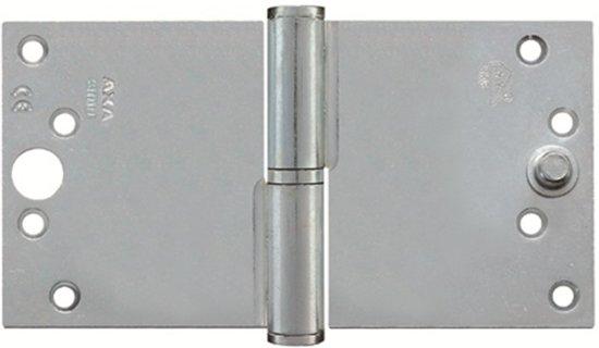 Axa Veiligheidskogelstiftpaumelle topcoat gegalvaniseerd rechts 89 x 175 x 3mm SKG*** 1200-29-23/V4