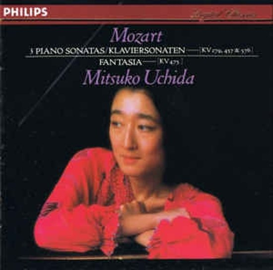 Mozart: Piano Sonatas; Fantasia in C