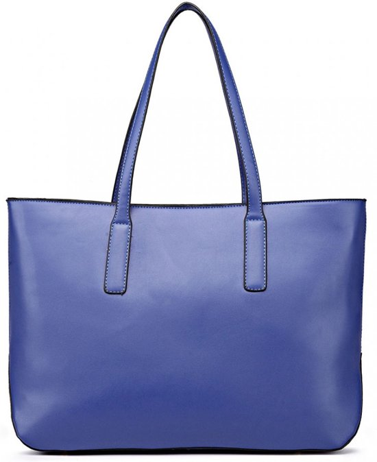 SchoudertasHandtas Ny Bag Tote Werktas Shoulder Lulu Large Miss Blauwl1435 rCBodxe