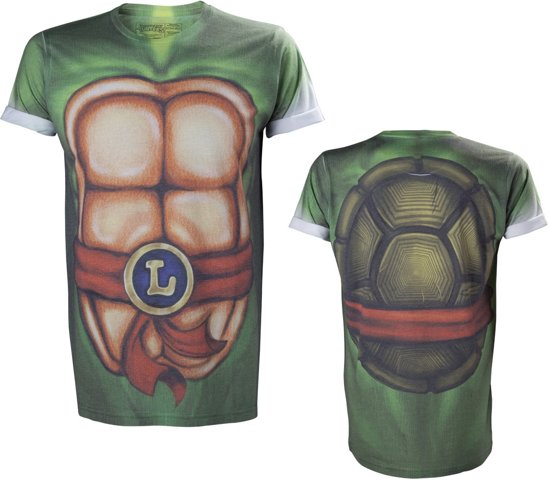 Merchandising TMNT - T-Shirt Sublimation Body (S)