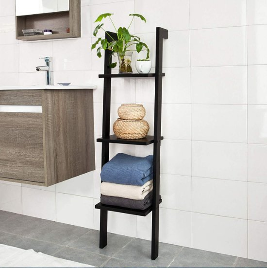 Veelzijdige ladderplank - Badkamer - Woonkamer - drie planken
