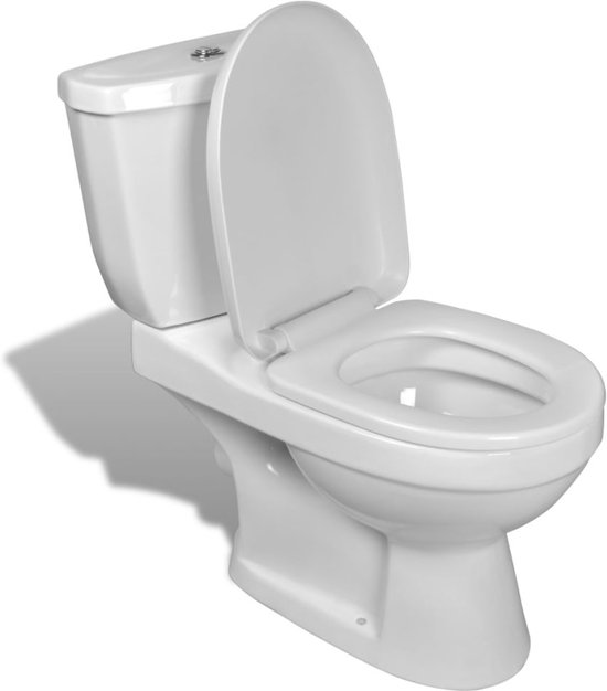 Fabulous bol.com | Toilet met stortbak (wit) YH57