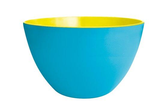 Zak!Designs Twotone Kom - Melamine - Ø 28 cm - Blauw/Golden