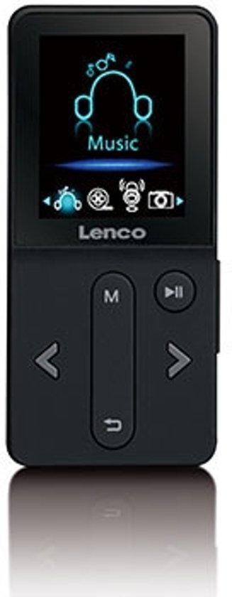 Lenco MP3 Speler XEMIO-240 - 4Gb Zwart