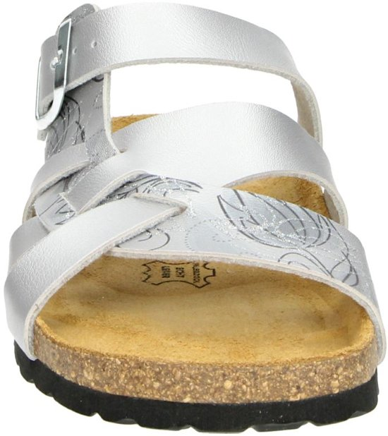 Nelson Dames Slipper - Zilver Maat 36 Nj36Qx4N