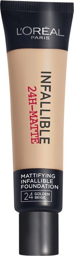 L'Oréal Paris Infallible Matte Foundation - 24 Beige Doré