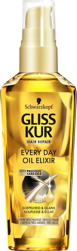 Schwarzkopf Gliss Kur Ultimate Repair Oil Elixer 75 ml - 1 stuk