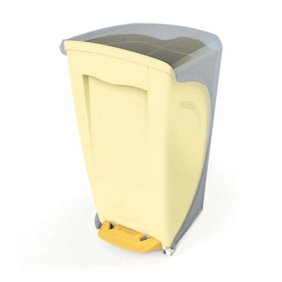 bol.com | Bama Italia Vuilbak badkamer Bama Bice geel 17 liter