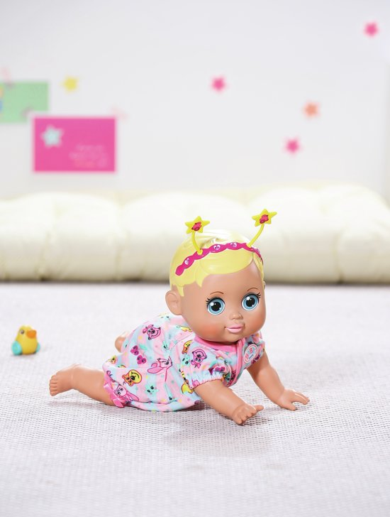 BABY born® Funny Faces Kruipende Babypop