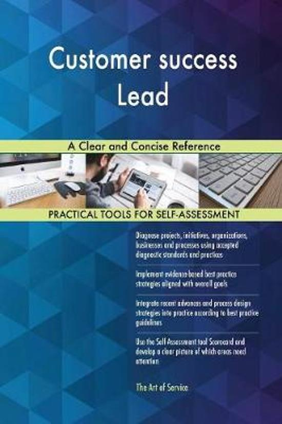 Customer Success Lead a Clear and Concise Reference