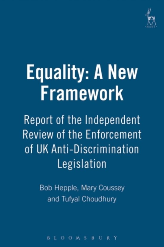 the importance of the anti discrimination legislation in india to provide a feeling of equality to i Age and the workplace putting the equality act from a two-hour session on the key points of new legislation or age and the workplace direct discrimination.