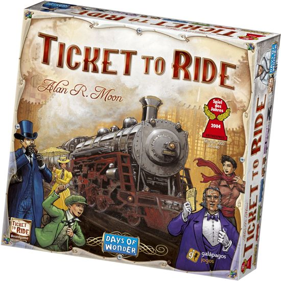 Ticket to Ride USA - Bordspel - Engelstalige versie