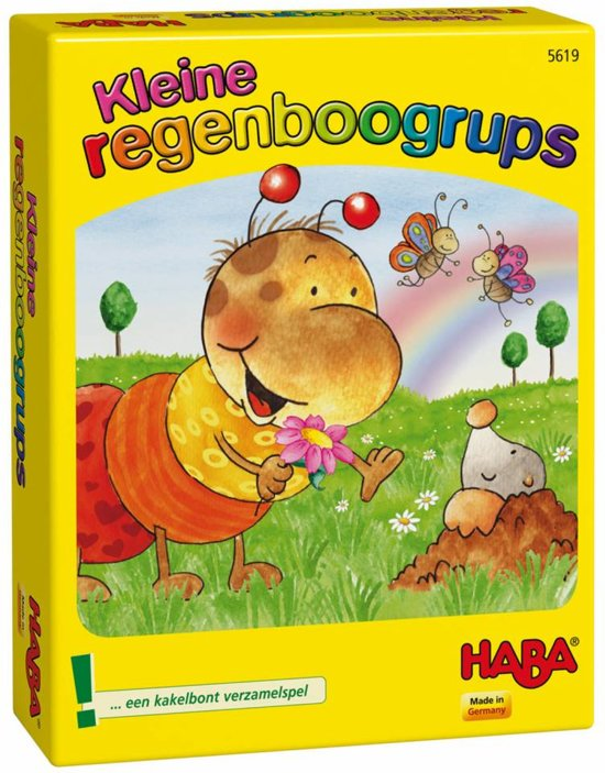 Haba Spel Spelletjes vanaf 3 jaar Kleine regenboogrups