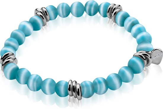 Zinzi - Stretch Armband - Turquoise Cateye - 6 mm (ZIA848T)