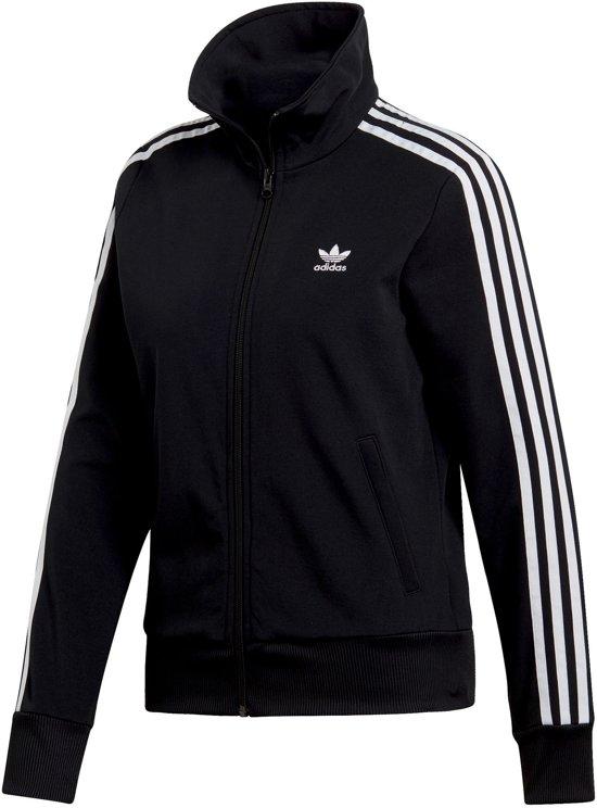 62cc28525c7 bol.com | adidas Trainingsjack Sportvest - Maat 34 - Vrouwen - zwart/wit