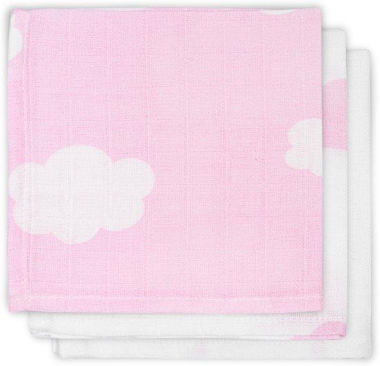 monddoekje hydrofiel Clouds Pink monddoekje Clouds Pink (3pack)