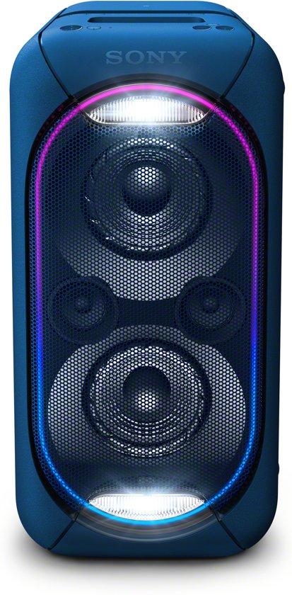 Sony GTK-XB60 EXTRA BASS Bluetooth luidspreker blauw