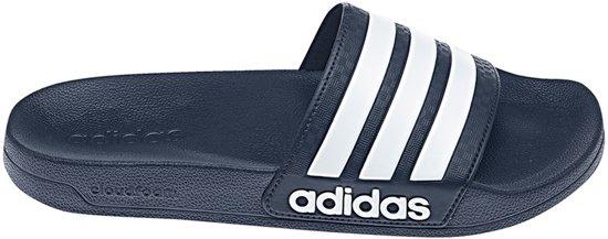 Adidas Adilette Cloudfoam Slippers Marine/wit wb9kmZPt
