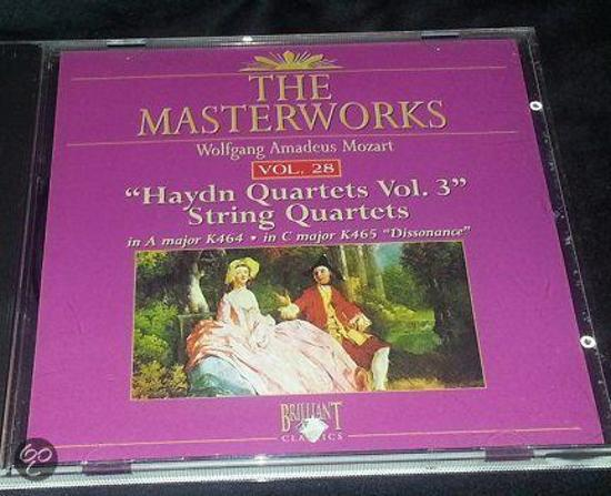 Mozart: Haydn string quartets vol. 3