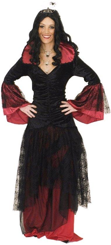 Duistere koningin kostuum voor vrouwen - Verkleedkleding - Maat S