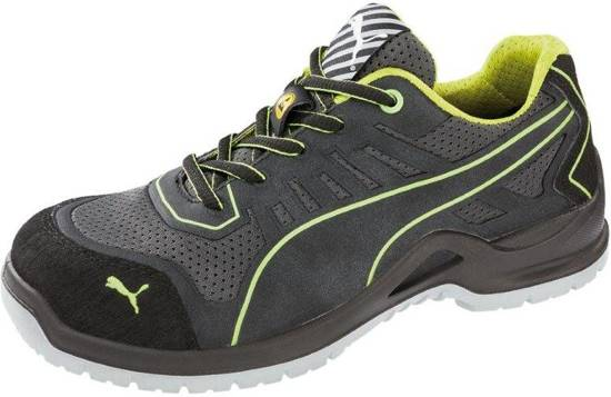Puma Werkschoenen.Bol Com Puma Werkschoenen Fuse Tc Laag S1p Esd Groen 44