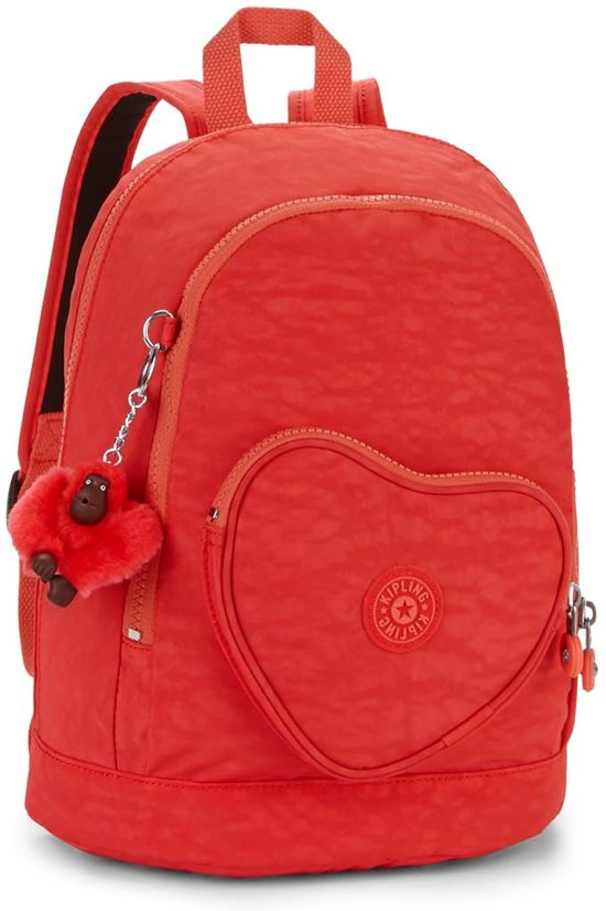 97b76874c37 bol.com | Kipling Heart Backpack - Rugzak - Kinderen - Happy Red C