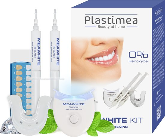 MEAWHITE® Kit - Tandenbleekset - Witte tanden - ZONDER peroxide