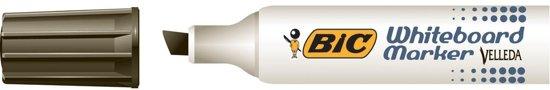 12x Bic whiteboardmarker Velleda 1781 zwart
