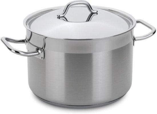 Kookpan, RVS, 24 cm - Silampos
