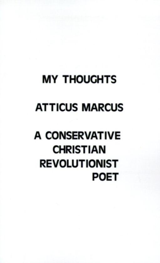 Boek cover My Thoughts van Atticus Marcus (Paperback)