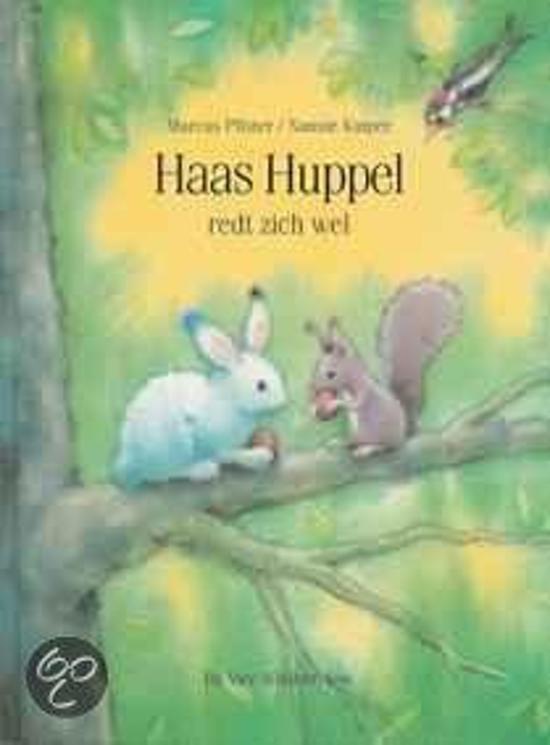 Boek cover Haas huppel redt zich wel van M. Pfister (Paperback)