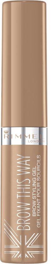 Rimmel Brow Gel - 001 Blonde - Wenkbrauwgel