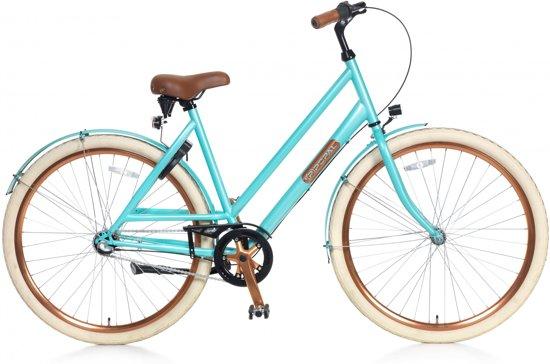 Popal Montebella N3 - Fiets - Vrouwen - Licht Blauw - 53 cm