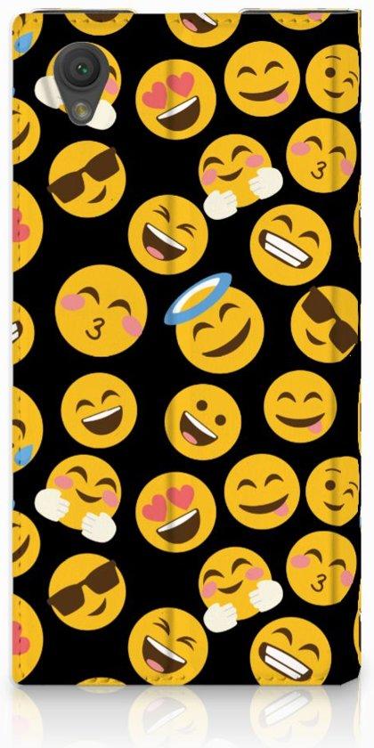 Sony Xperia L1 Uniek Design Hoesje Emoji�s
