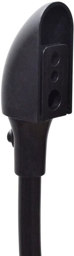 vidaXL Universele speakerstandaard zwart 2 st