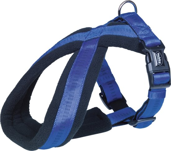Nobby Comfort Tuig - Hond - L - Buikomvang 60 tot 90 cm - Blauw